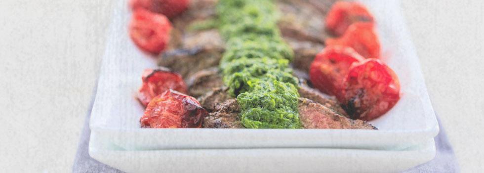 Coriander-Crusted Hanger Steak Recipes — Dishmaps
